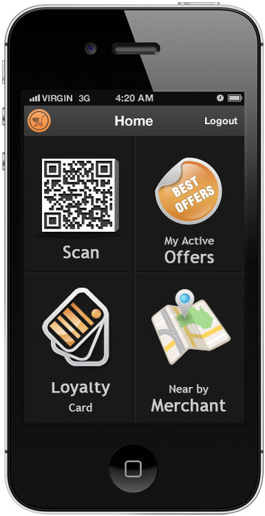 Mobile app for redeeming coupons